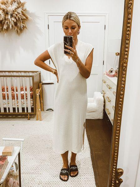 favorite affordable ribbed dresses from H&M   #LTKunder50