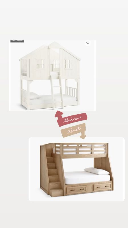 Bunk beds! Which one is your favorite from pottery barn ?   #LTKhome