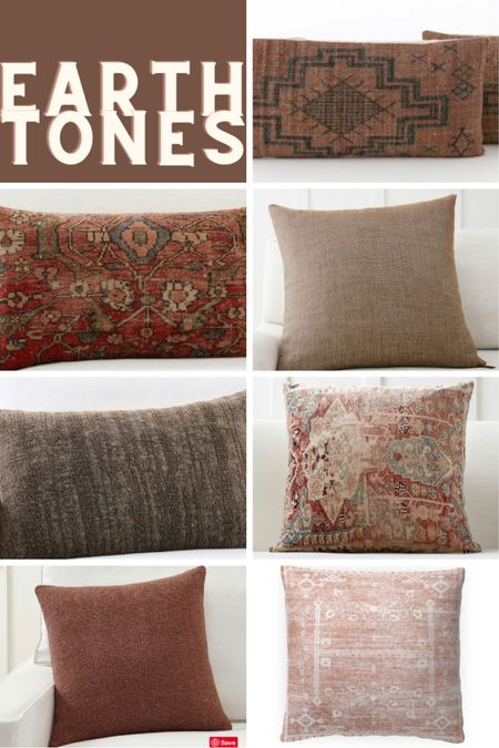 Favorite earth tone pillow covers! These are perfect for fall pillows and are great quality throw pillows.   #LTKsalealert #LTKunder50 #LTKhome