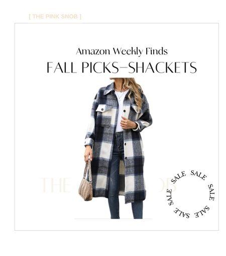 Shackets for Fall. Amazon. Amazon Fashion.  #LTKSeasonal #LTKbacktoschool #LTKunder100