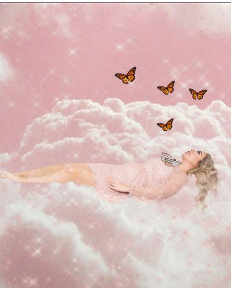Glittery goodness in the pink heavens. Need I say more?    http://liketk.it/38KWc #liketkit @liketoknow.it #LTKunder50 #LTKstyletip #pinkdress