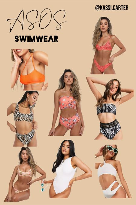 ASOS swimsuits perfect for vacation! http://liketk.it/3jJbi #liketkit @liketoknow.it #LTKtravel #LTKunder50 #LTKsalealert