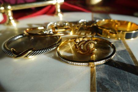 Golden hour with designer inspired bracelets ✨   #LTKeurope #LTKunder50 #LTKunder100