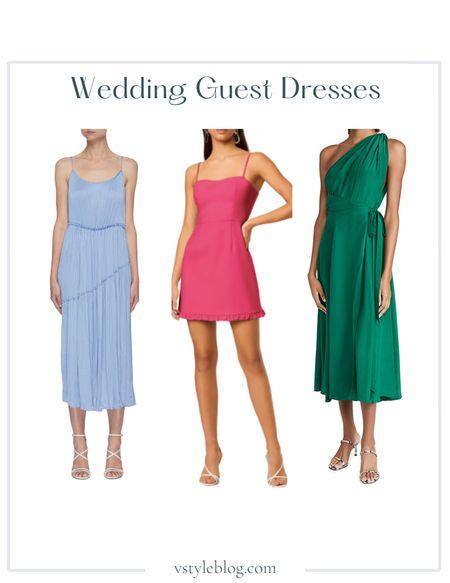 Wedding Guest Dresses, Summer Dress, Midi Dress, Mini Dress, Sale Alert  Vince Tiered Asymmetric Dress ($425), French Connection Frill Sweetheart Sleeveless Minidress ($148), Azeeza Emilie Dress (was $1,295, now $388.50)  #LTKsalealert #LTKfit #LTKwedding