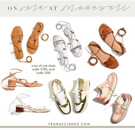 Madewell has sooo many cute shoes on sale right now and most available still in all sizes!!!   #LTKsalealert