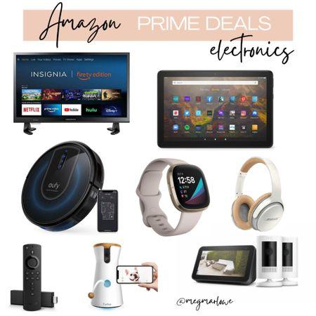 Amazon Prime Day Deals on electronics   #LTKunder100 #LTKunder50 #LTKhome