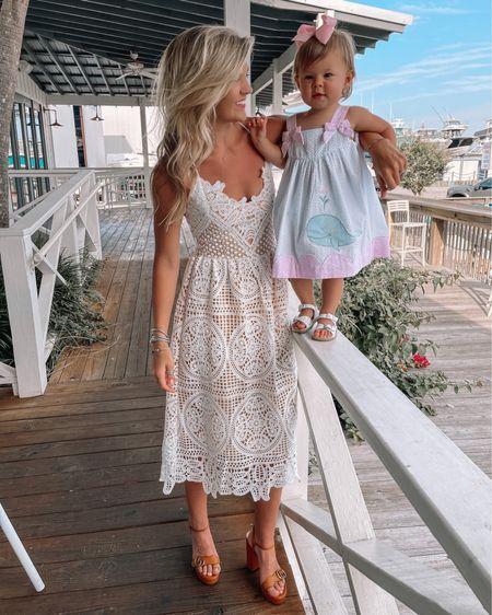 White crochet midi dress http://liketk.it/3hMBQ @liketoknow.it #liketkit