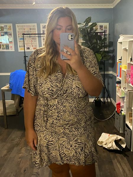 True to size mini dresses - plus size wedding guest outfit ideas both on sale. They run true to size   #LTKunder100 #LTKstyletip #LTKcurves
