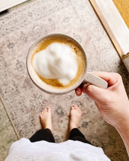 Happy Friday! Coffee tastes better over a pretty rug. 😁 http://liketk.it/37Hdn #liketkit @liketoknow.it #LTKSeasonal #LTKVDay #LTKhome @liketoknow.it.home Shop your screenshot of this pic with the LIKEtoKNOW.it shopping app