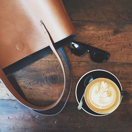 #nationalcoffeeday -- because we all need another excuse to Instagram our coffee. ? Deets on the bag and sunnies  here ? @liketoknow.it www.liketk.it/uAyg
