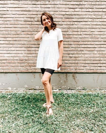 Summer has been a long time coming. So I prefer to wear these shorts and just a white shirt!  ☺️ Buy my daily looks by following me in the LIKEtoKNOW.it shopping app. . . . 🇩🇪: So lange hat der Sommer auf sich warten lassen.  Umso lieber trage ich diese Shorts und einfach ein weißes Shirt dazu! ☺️ Kaufe meine täglichen Looks, indem du mir in der LIKEtoKNOW.it-Shopping-App folgst.     http://liketk.it/3gOZm #liketkit @liketoknow.it   #LTKunder50 #LTKunder100 #LTKeurope @liketoknow.it.europe