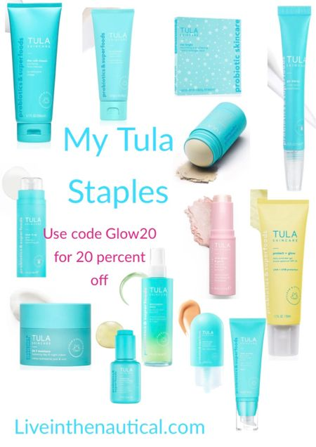 Sale Alert! Tula is having 20 percent off this weekend with code Glow20   Sharing and stocking up on all my Tula favs   #LTKsalealert #LTKunder50 #LTKbeauty