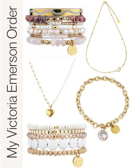 Victoria Emerson bracelets and necklaces on sale #anna_brstyle  #LTKsalealert