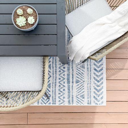 Outdoor living space inspo.   #LTKSeasonal #LTKhome