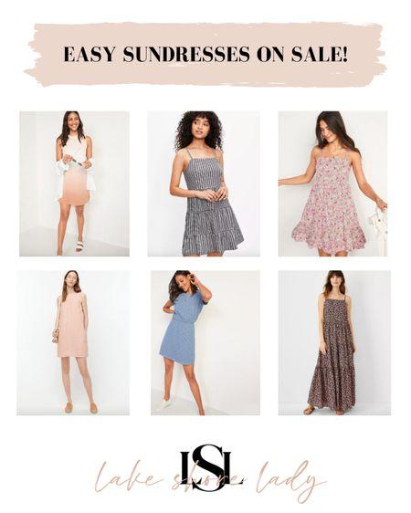 Easy sundresses on sale! @liketoknow.it http://liketk.it/3gsFu #liketkit #LTKunder100 #LTKsalealert  Sundresses Day dresses Memorial Day sales