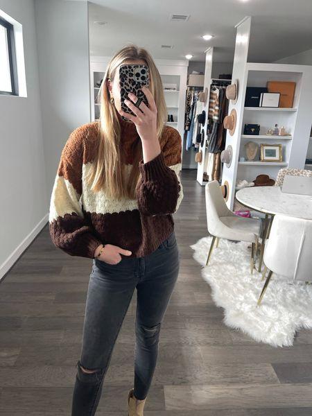 Cute fall sweater! Use code LEEANNEOCT for 15% off!   #LTKstyletip #LTKHoliday #LTKSeasonal