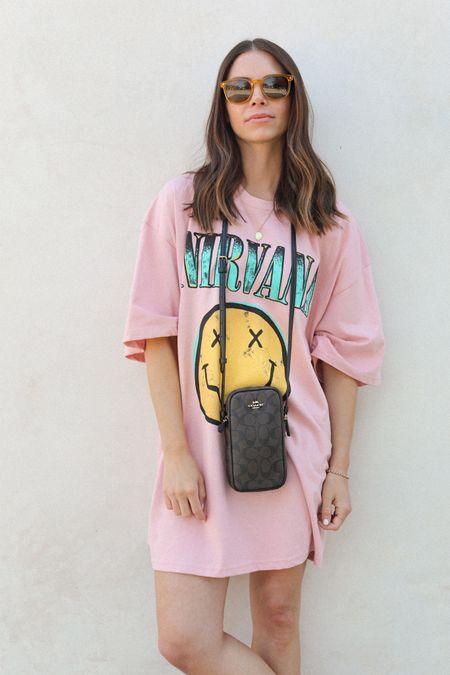 Graphic T — Shirt Dress & @coach