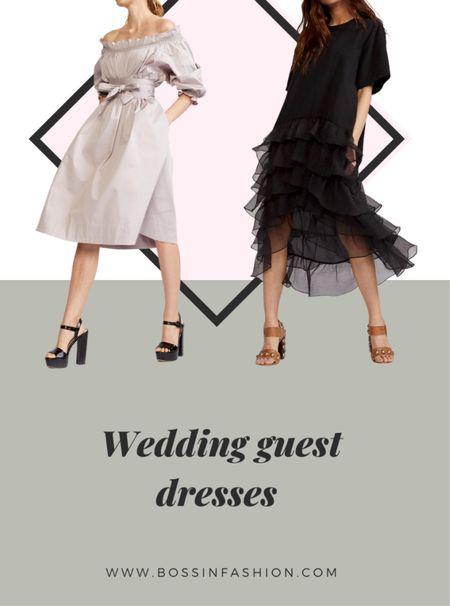 Shop my favorite guest wedding dress options! Fall season is a great season for weddings! Dress the part!   #LTKSeasonal #LTKstyletip