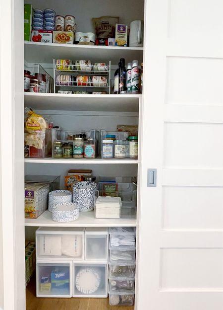 Organized overflow pantry || #pantryorganization #pantry   #LTKhome #LTKkids #LTKfamily