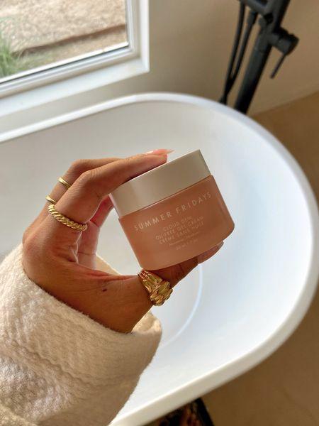 Summer fridays moisturizer, free standing bathtub, bathroom remodel   #LTKhome #LTKbeauty #LTKsalealert