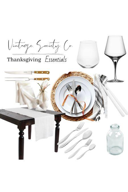 Thanksgiving Essentials   #LTKhome #LTKHoliday #LTKSeasonal