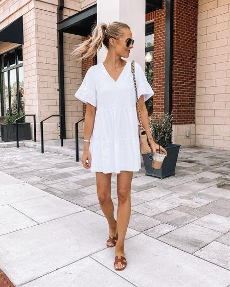The best little white dress for summer from Amazon! #amazonfashion #whitedress #dresses #summerdress #amazonfinds http://liketk.it/3i9IL #liketkit @liketoknow.it #LTKstyletip #LTKunder100 #LTKunder50