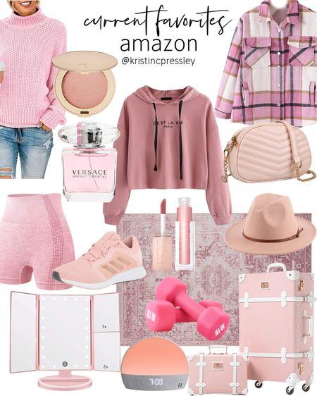 Pink lover aesthetic all from Amazon!   #LTKstyletip #LTKGiftGuide #LTKshoecrush