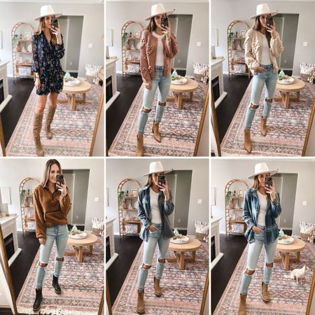 Walmart fall try on haul!! #walmartfashion #ltkfall #affordablefashion #falldress #westernboots #walmartfallfashion #reversibleshacket #10sherpa #momjeans #chelseaboots #lugboots #walmartfinds #ltkunder30 #targetboots #timeandtrudress #heartcardigan **sizing: dress: xs, boots: 8.5 heart cardigan:small, jeans: 3 boots:8.5 Sherpa: small, boots: 8 Shacket: small, boots: 8  #LTKSeasonal #LTKshoecrush #LTKunder50