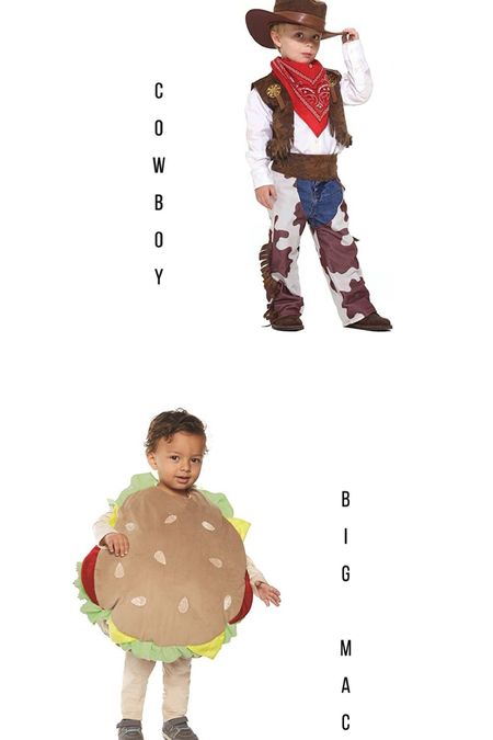 Help me decide Mac's Halloween costume! A cowboy or a Big Mac   #LTKHoliday