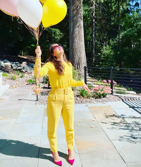 Fall Alert Invest in colorful clothes for fall!!! I'm loving my yellow ensemble 💛💛💛