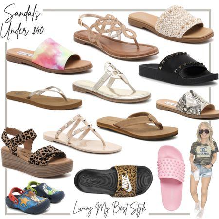 DSW sandals under $40 ✨ http://liketk.it/3haM9 #liketkit @liketoknow.it
