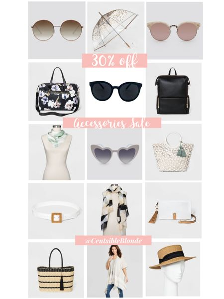 Target accessories 30% off sale. Sunglasses, handbags, scarfs, tote bags, weekends, kimonos, hats, belts   http://liketk.it/2O6wl #liketkit @liketoknow.it #LTKspring #LTKsalealert #LTKitbag