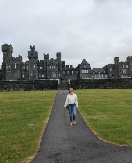 Walking the grounds at the Ashford Castle today in Cong, Ireland! This 800 year old castle is pristine 👌 http://liketk.it/2wpQA #liketkit @liketoknow.it