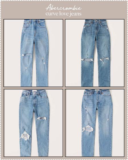 curve jeans - Abercrombie curve love jeans on sale!   #LTKDay #LTKcurves #LTKstyletip