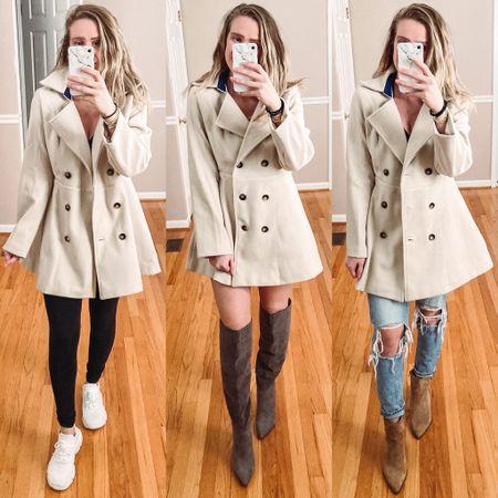 Shein Coat   #LTKunder50 #LTKshoecrush #LTKstyletip