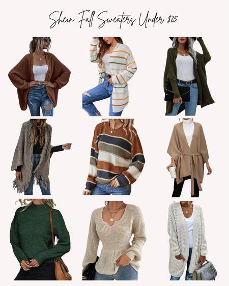 Women's sweaters, fall, autumn, shein, clothes, cozy  #LTKSeasonal #LTKstyletip #LTKunder50