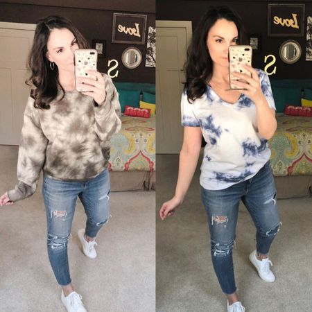 Repost because TIE DYE!! So many cute tie dye tshirt options ranging from $8-$10!! http://liketk.it/2OR0G @liketoknow.it #liketkit Follow me on the LIKEtoKNOW.it shopping app to get the product details for this look and others