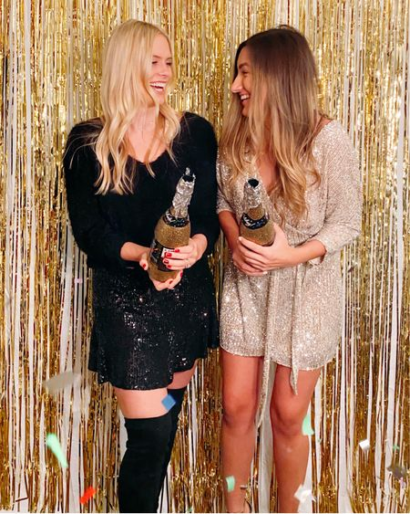Our New Year's Eve party outfits! http://liketk.it/2KuBW #liketkit @liketoknow.it
