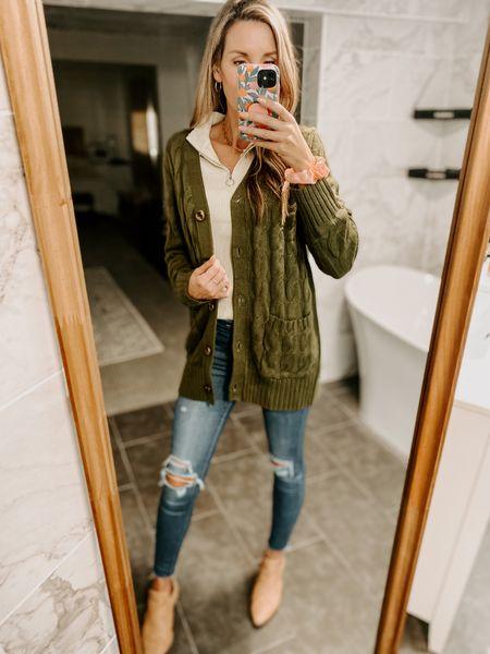 Casual Long Sleeve Cable Knit Cardigan Color: Khaki/TTS/wearing size S #ifounditonamazon #amazonfashion #amazonfinds #outfitoftheday #ootd #outfitideas #outfitinspo #amazonsweater #amazonfallfashion #amazonwinterfashion #amazonsweatercardigan   http://liketk.it/3pOmS @liketoknow.it #liketkit #LTKSeasonal #LTKcurves #LTKfit #LTKstyletip #LTKbeauty