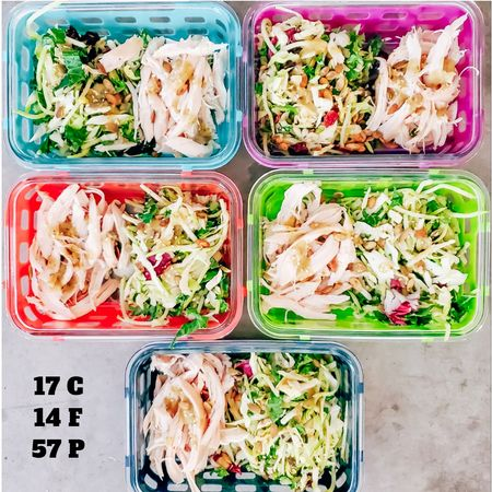 How can you resist meal prepping when you have cute containers to use? Download the LIKEtoKNOW.it app to shop this pic. Search: theblendedblonde   http://liketk.it/2IP3Y @liketoknow.it #liketkit #LTKunder50 #LTKfit #LTKhome