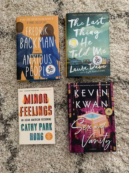 Book recommendations. Fall reads. Summer reading. Book club. Vacation reading. Vacation books. Beach book. Fall book club. Mom book club. Back to school reading.   #LTKhome #LTKfamily #LTKtravel