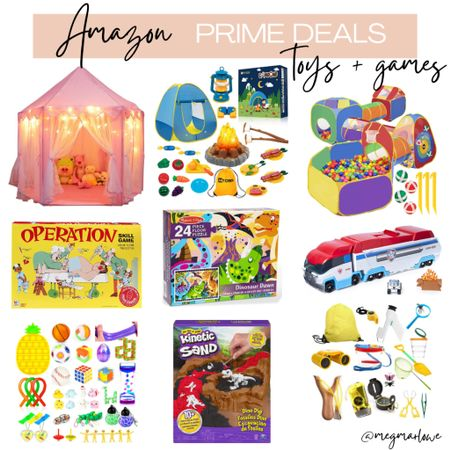 Toys and games for kids on Amazon prime day deals   #LTKfamily #LTKunder50 #LTKkids