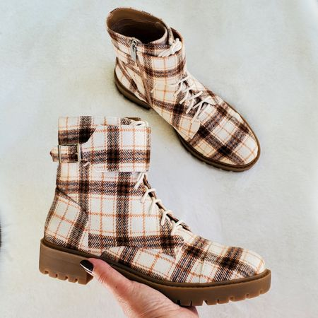 Plaid Combat Boots  ,tts         http://liketk.it/3pRpa @liketoknow.it #liketkit #LTKGiftGuide #LTKHoliday #LTKSeasonal #LTKsalealert #LTKunder100 #LTKunder50 #LTKworkwear #LTKshoecrush #LTKFall #LTKGifts   Travel Outfits   Teacher Outfits   Back to School   Casual Business   Fall Outfits   Fall Fashion   Pumpkins  Pumpkin   Booties   Boots   Bodysuits   Halloween   Shackets   Plaid Shirts   Plaid Jackets   Activewear   White Sneakers   Sweater Dress   Fall Dresses   Sweater Vests   Cardigans   Sweaters   Faux Leather Pants   Faux Leather Jackets   Coats   Fleece   Jackets   Bags   Handbags   Crossbody Bags   Tote   Wedding Guest Dresses   Gifting   Gift Guide   Gift Ideas   Gift for Her   Mother in Law Gifts  