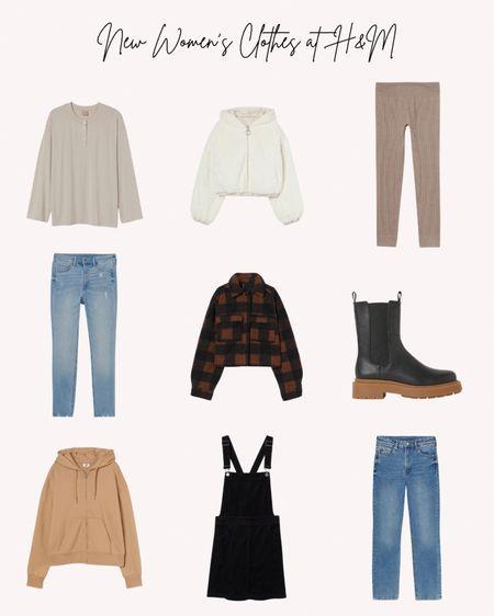 Women's clothing, women's shoes, boots, jeans, jackets, sweaters, new, fall, autumn, H&M, sweatshirt, neutral, cozy  #LTKunder50 #LTKstyletip #LTKSeasonal