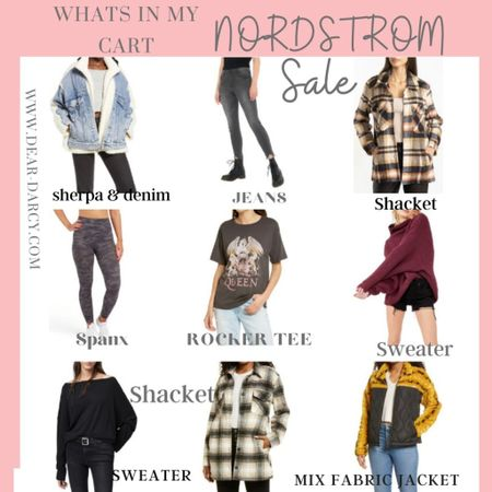 Nordstrom SALE … What's in my cart✔️ My picks, brands I love at a great price. . Fall pieces you'll wear ALL season and be glad you got on SALE🎉🌸 . .  Shop my daily looks by following me on the LIKEtoKNOW.it shopping app http://liketk.it/3jEl1 #liketkit @liketoknow.it #LTKsalealert #LTKstyletip #LTKunder100