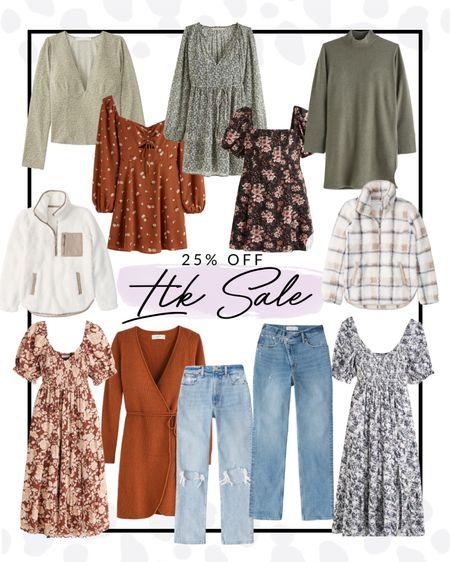 The LTK sale is still live for ONE MORE DAY! Shop these dresses and denim options right now for 25% off! Copy code!   #LTKSale #LTKsalealert #LTKSeasonal