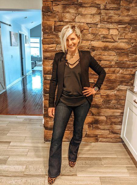 Proof I've put on jeans in quarantine 👖  #LTKunder100 #LTKunder50 #LTKworkwear