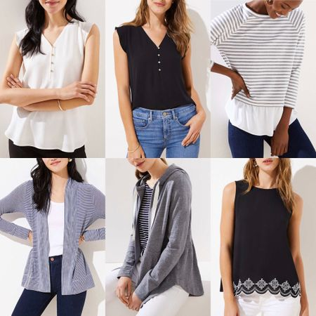 Here are just a few LOFT new arrivals to be excited about! 🤩 #SaleAlert: Get 40% off full-price tops, sweaters and PLUS (Cardmembers get 50% off when you use your LOVELOFT or Ann Taylor card at checkout) and save an extra 40% off sale styles at LOFT. Since no code is needed on full-price styles use INSIDER249 for $25 off your full-price promotional purchase of $100+ (excludes Lou & Grey and sale styles). @liketoknow.it http://liketk.it/2AbAV #liketkit #LTKsalealert #LTKunder100 #LTKunder50 #loveloft