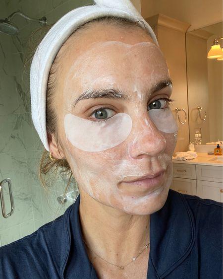 Hydrating cream mask to add hydration back into thirsty skin 🤍 #liketkit #LTKbeauty @liketoknow.it http://liketk.it/3iwuY