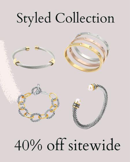 Styled Collection is 40% off sitewide!   #LTKunder50 #LTKSale #LTKsalealert